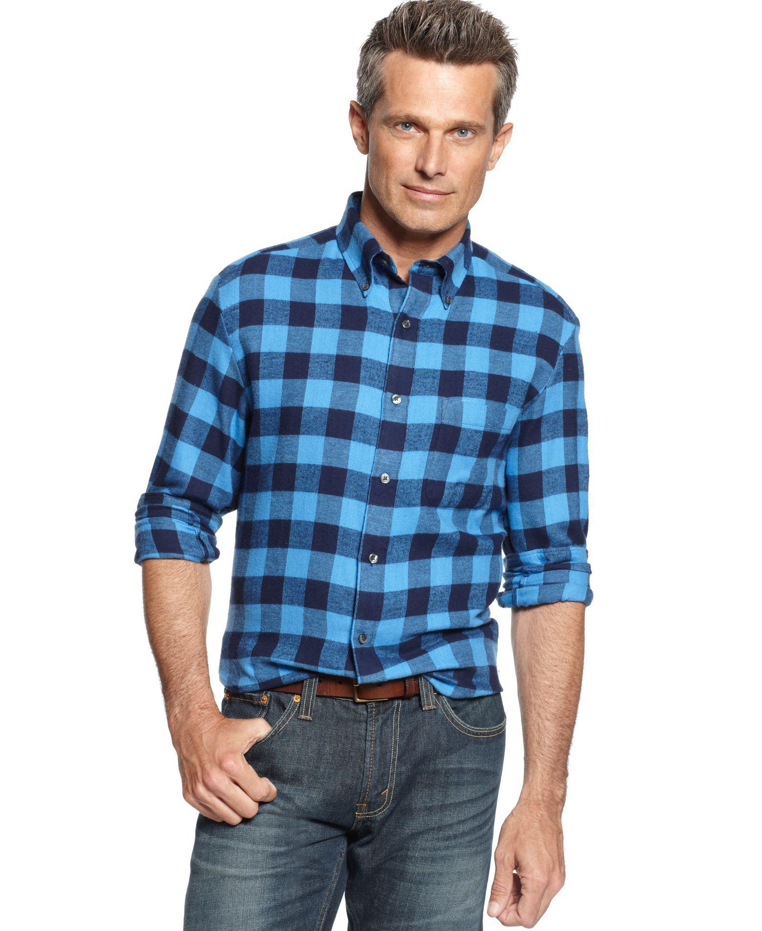 Red flannel vest womens  John Ashford Big and Tall BuffaloPlaid Flannel Shirt  Products