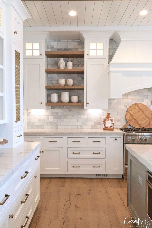Modern European Meets Farmhouse Dream Kitchen Farmhouse Kitchen