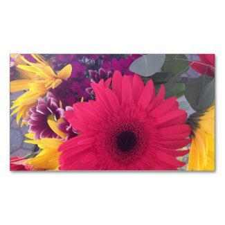 Daisies Flowers Beauty Business Cards