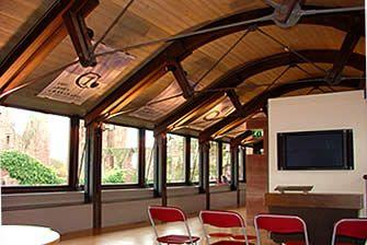 Steel Truss W Wood Barrel Roof Inspired Pdx Office
