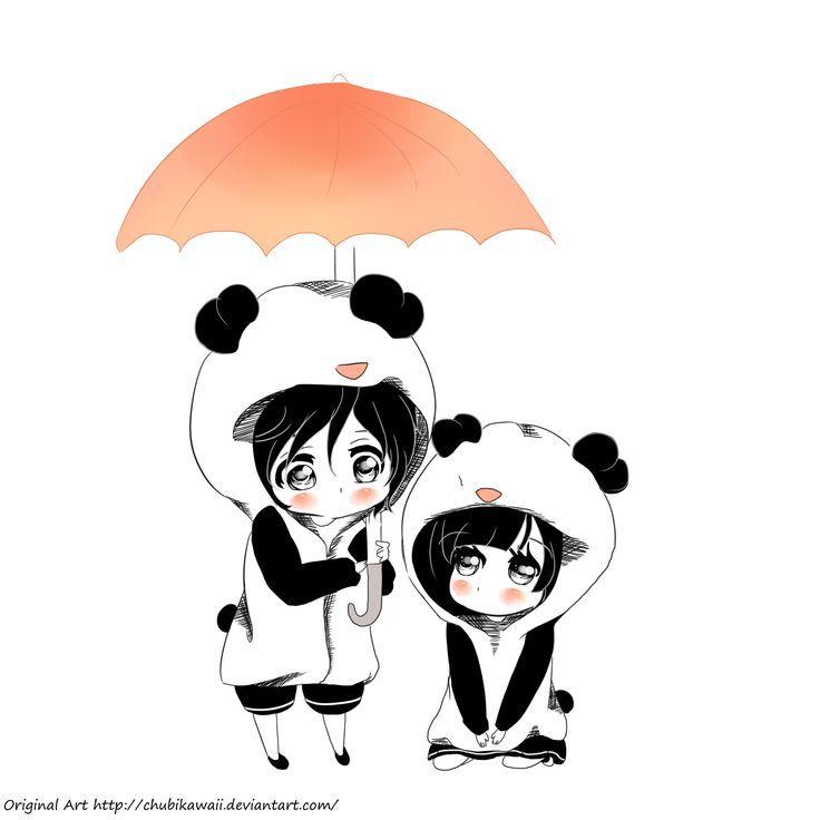 panda dibujo tierno - Pesquisa Google