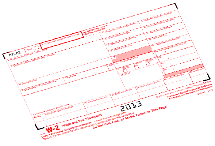 Form W Also Called The Wage And Tax Statement Is A Tax Form That