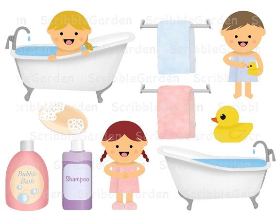 Bath Time Clip Art Bath Time Diy Party Printables