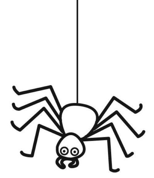 halloween ausmalbilder spinne – Ausmalbilder für kinder ...