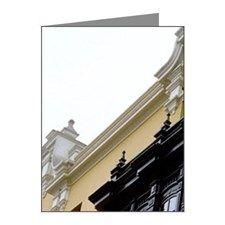 Peru, Lima, Plaza de Armas,  Note Cards (Pk of 10)