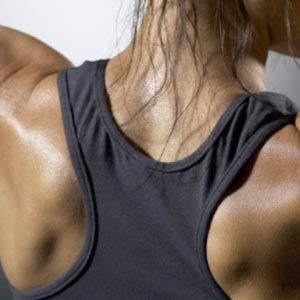Negative Chinup  http://www.womenshealthmag.com/fitness/get-rid-of-back-fat