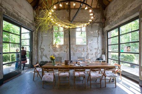 Proef restaurant interior cafe stories pinterest for Industrial design amsterdam