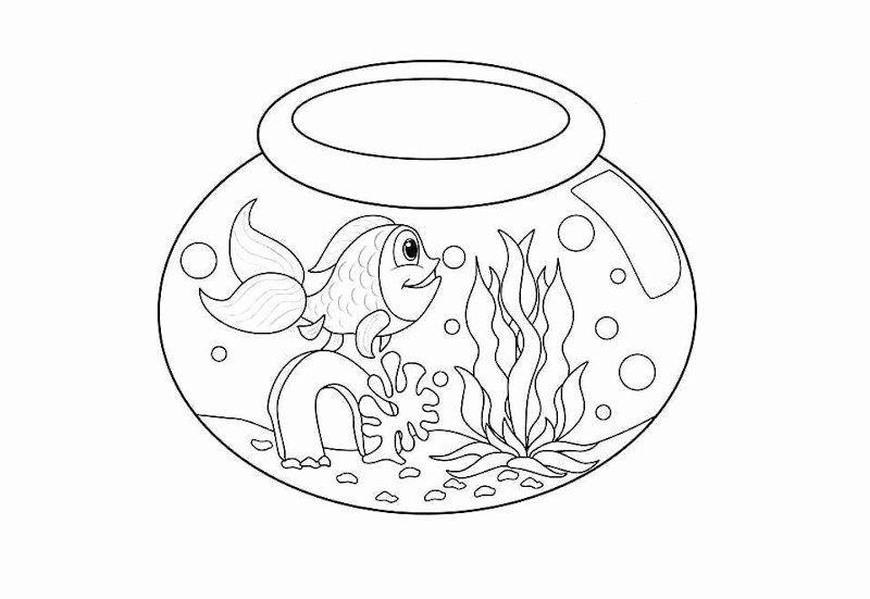Fish Bowl Coloring Page Luxury Free Umbrella Coloring Pages Frozen Coloring Pages Bee Coloring Pages Coloring Pages