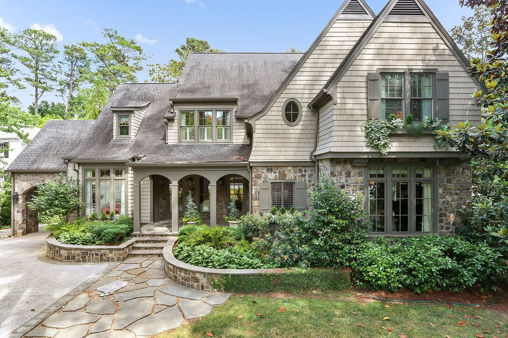 Atlanta Homes Lifestyles Luxury House Plans Vintage House Plans House Floor Plans