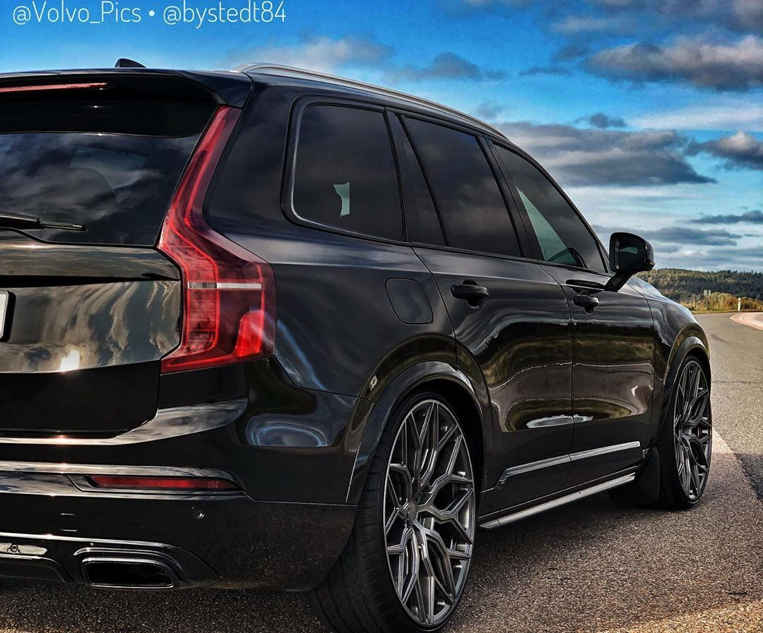 Just Perfect As It Can Get I Will Say That This Is A Well Done Xc90 Perfect For My Taste Blacked Out With The Grille Windows
