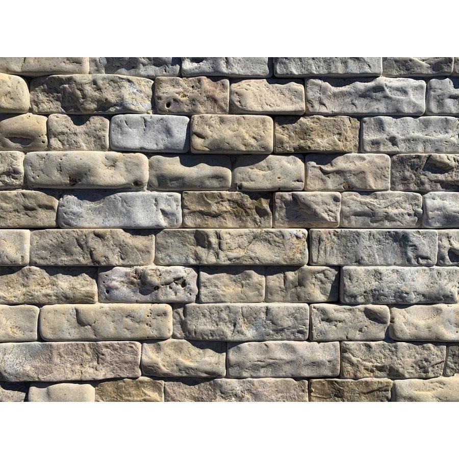 Natural Stone Veneer 50 Sq Ft Desert Sand Stone Veneer Lowes Com Stone Veneer Natural Stone Veneer Stone Veneer Exterior