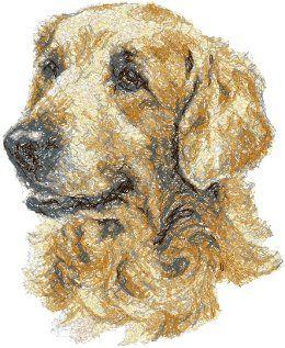 Advanced Embroidery Designs - Golden Retriever II