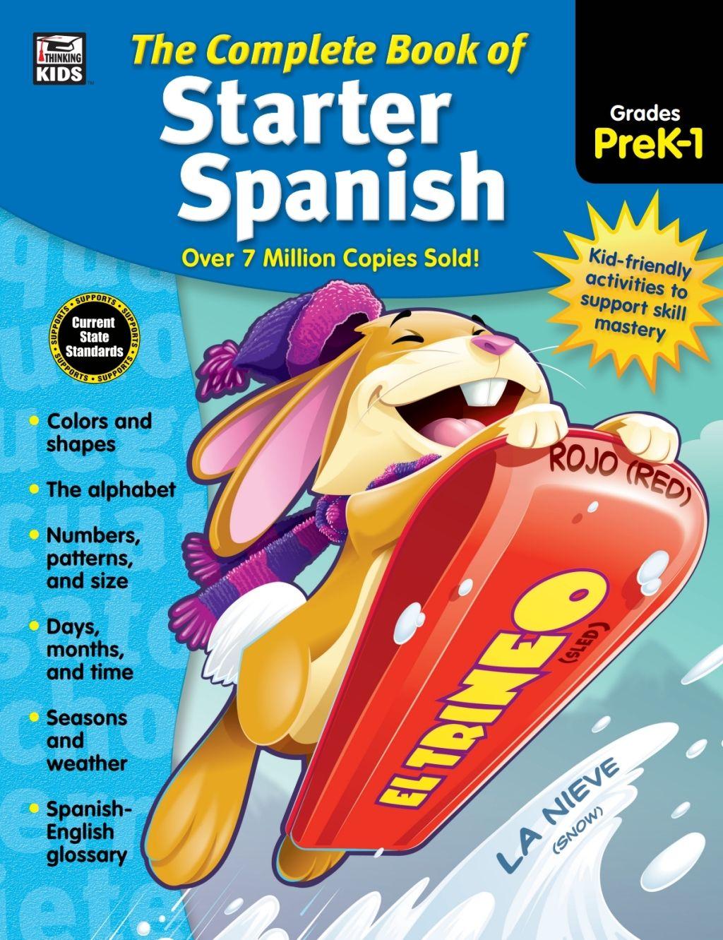 The Complete Book Of Starter Spanish Grades Preschool
