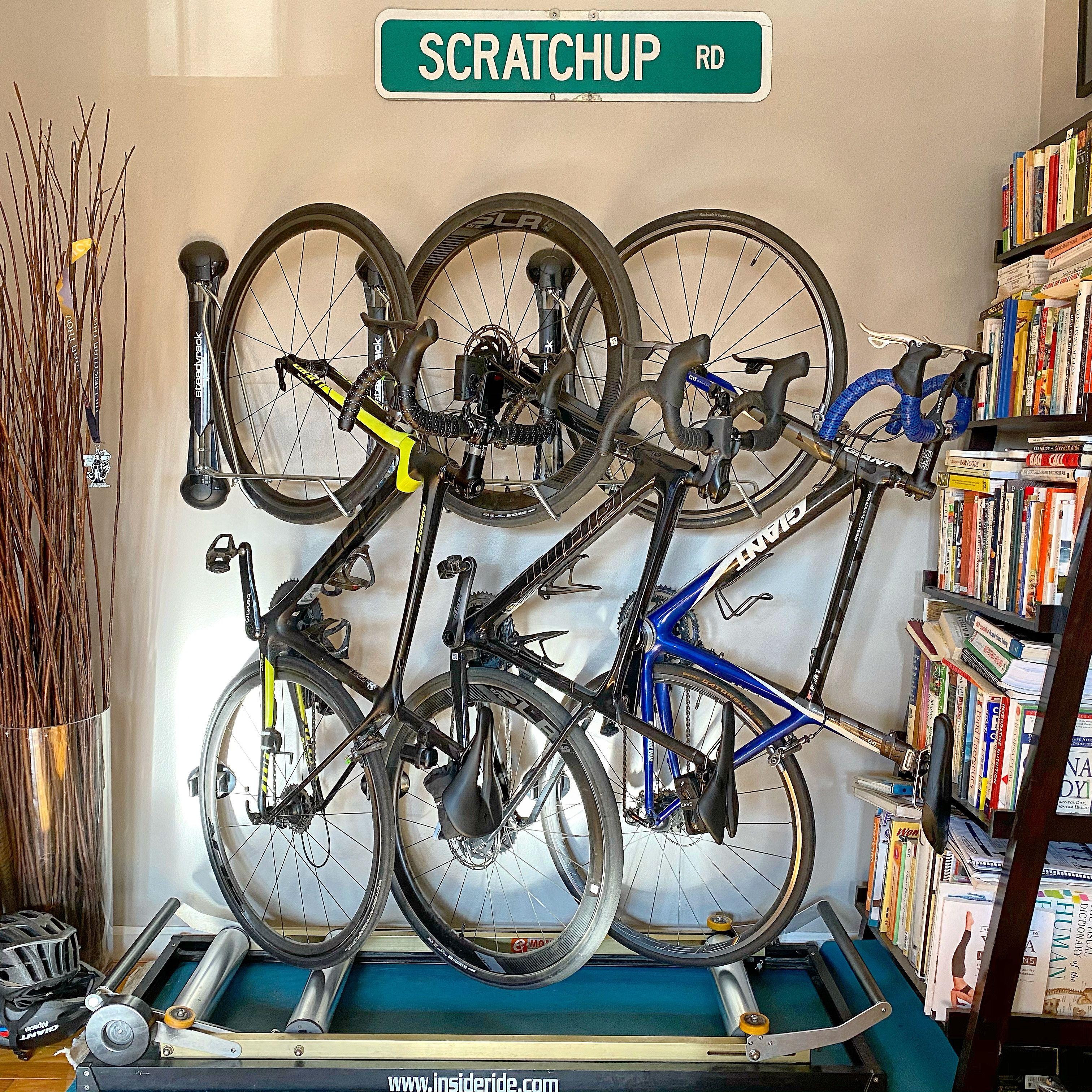 Steadyrack Review Best Bike Rack Wall Mount Bike Rack Bike Rack