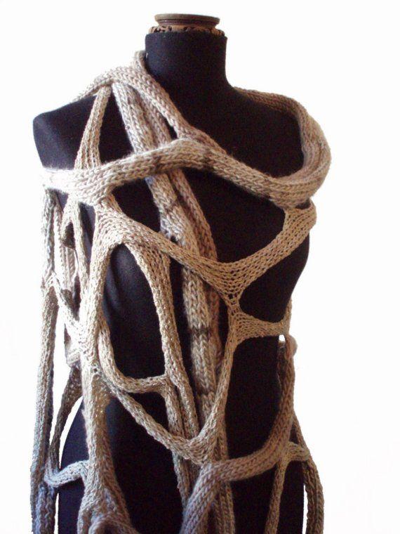 spider web shawl