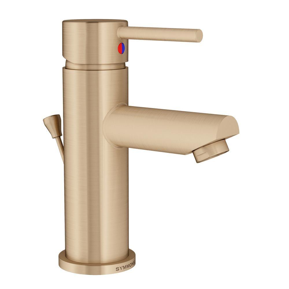 Symmons Modern Single Hole Single Handle Bathroom Faucet With