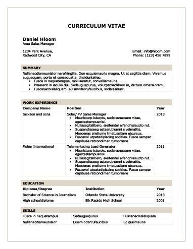 Chronological Resume by Hloom desktp Pinterest - reverse chronological resume