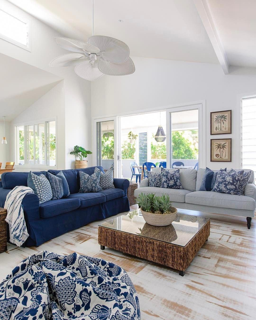 50 Lovely Rustic Coastal Living Room Design Ideas: Pin By Sheila Garcia On Home & Design In 2020