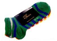 3 Paar Damen Sneaker-Socks mit Ringel