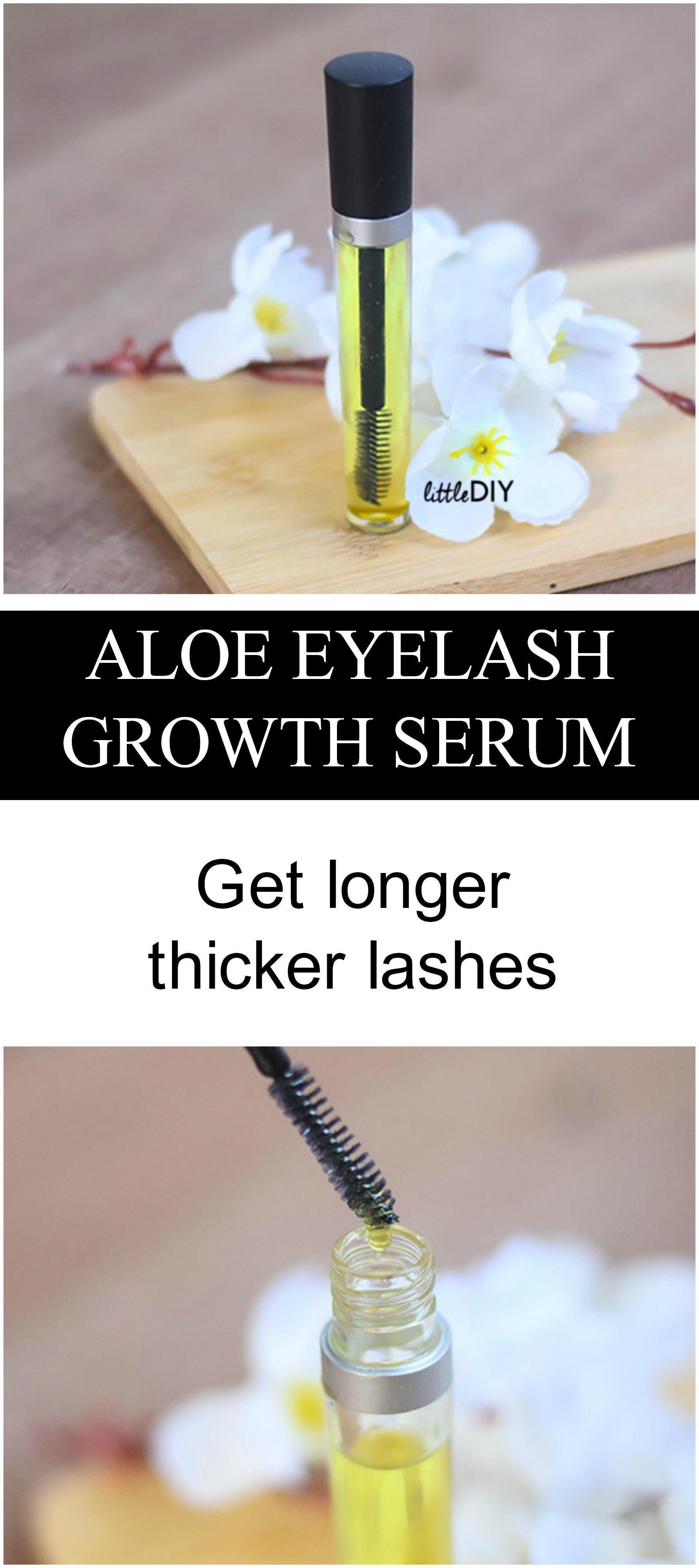 Aloe lash serum for longer lashes lash serum serum