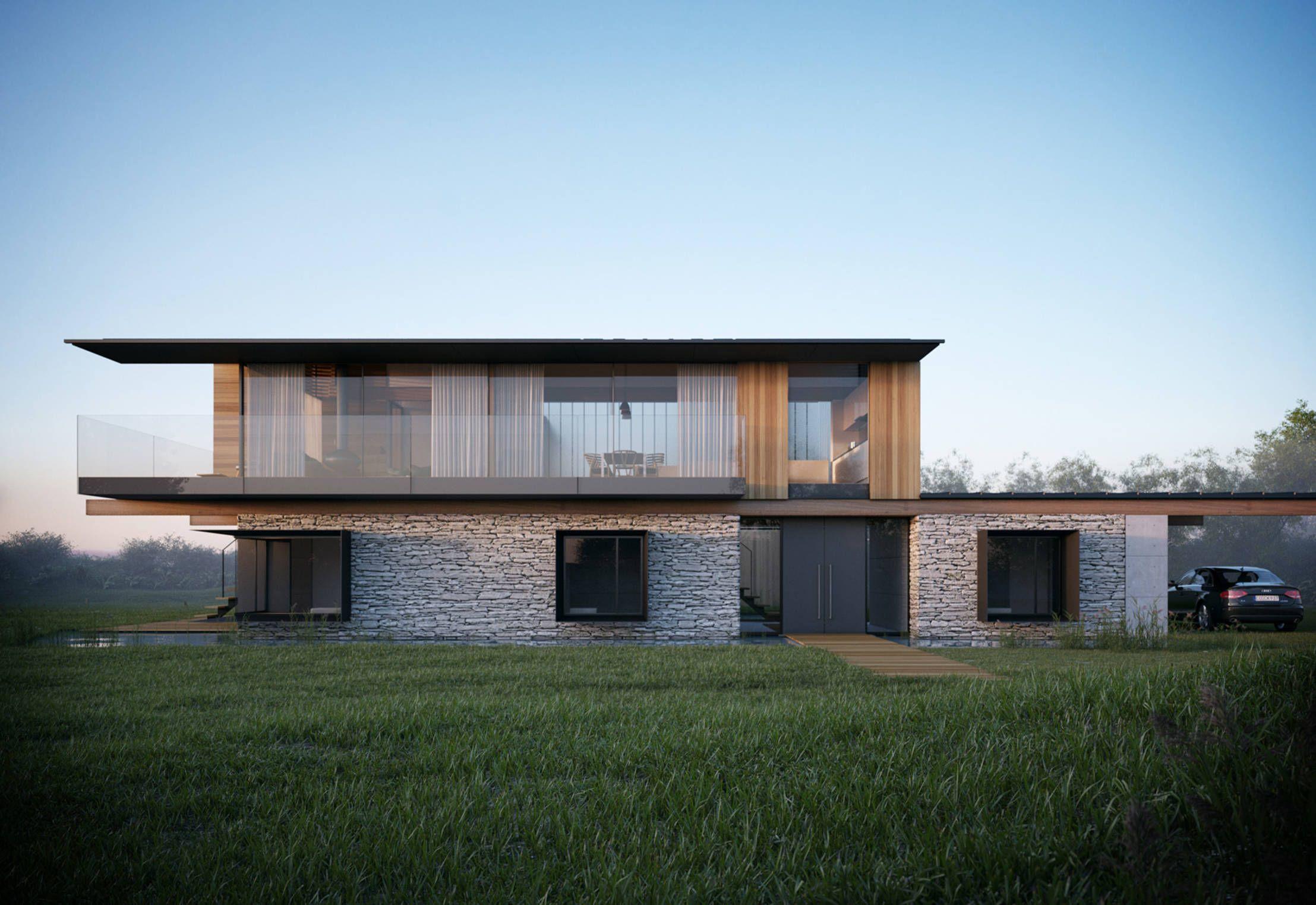 イギリス・ウェールズに計画された近未来的な住宅です。と言っても ...