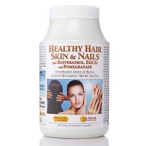 Andrew Lessman Hair Skin Nails Plus Resveratrol Egcg And Pomegranate 600 Capsules At Hsn Vitamins For Hair Growth Faster Hair Growth Vitamins Nails Plus