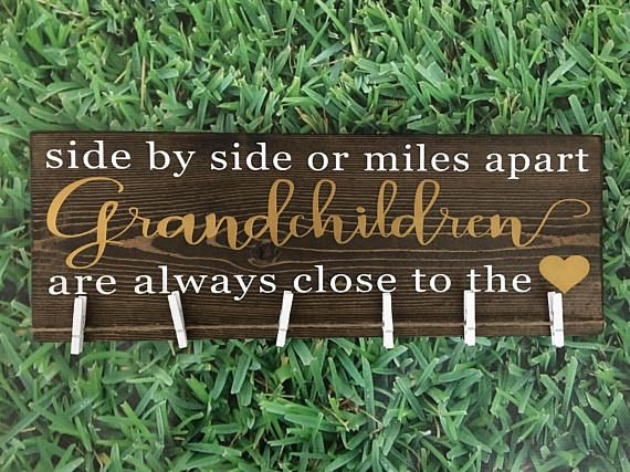 Side By Side Or Miles Apart Grandchildren Are Always Close
