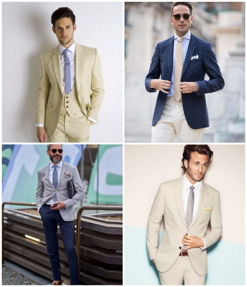 How to Wear a Summer Suit to a Wedding: Men\'s Style Guide | Wedding ...
