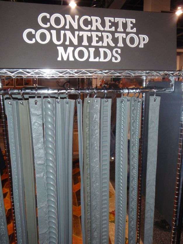 Concrete Countertop Edge Forms
