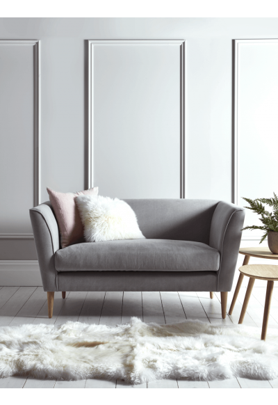 New Timsbury Cotton Weave Sofa Grey