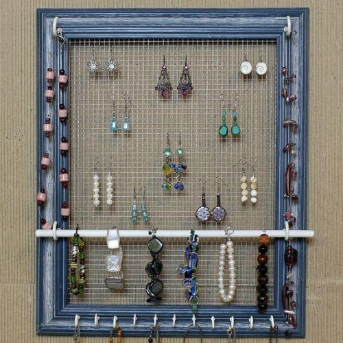 diy ideen f r schmuckhalter und schmuckst nder bastelideen. Black Bedroom Furniture Sets. Home Design Ideas
