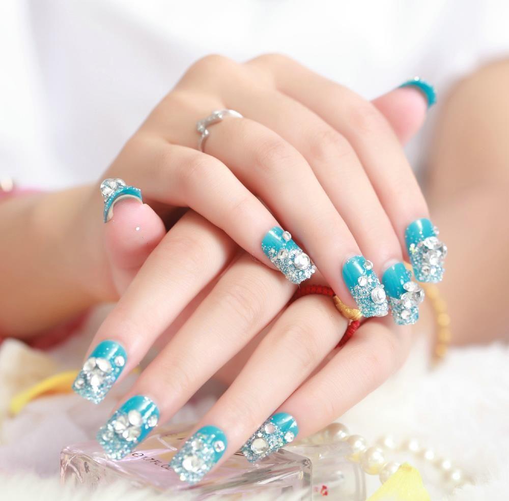 70 fotos de u as decoradas para el verano summer nail for Piedras colores decoracion