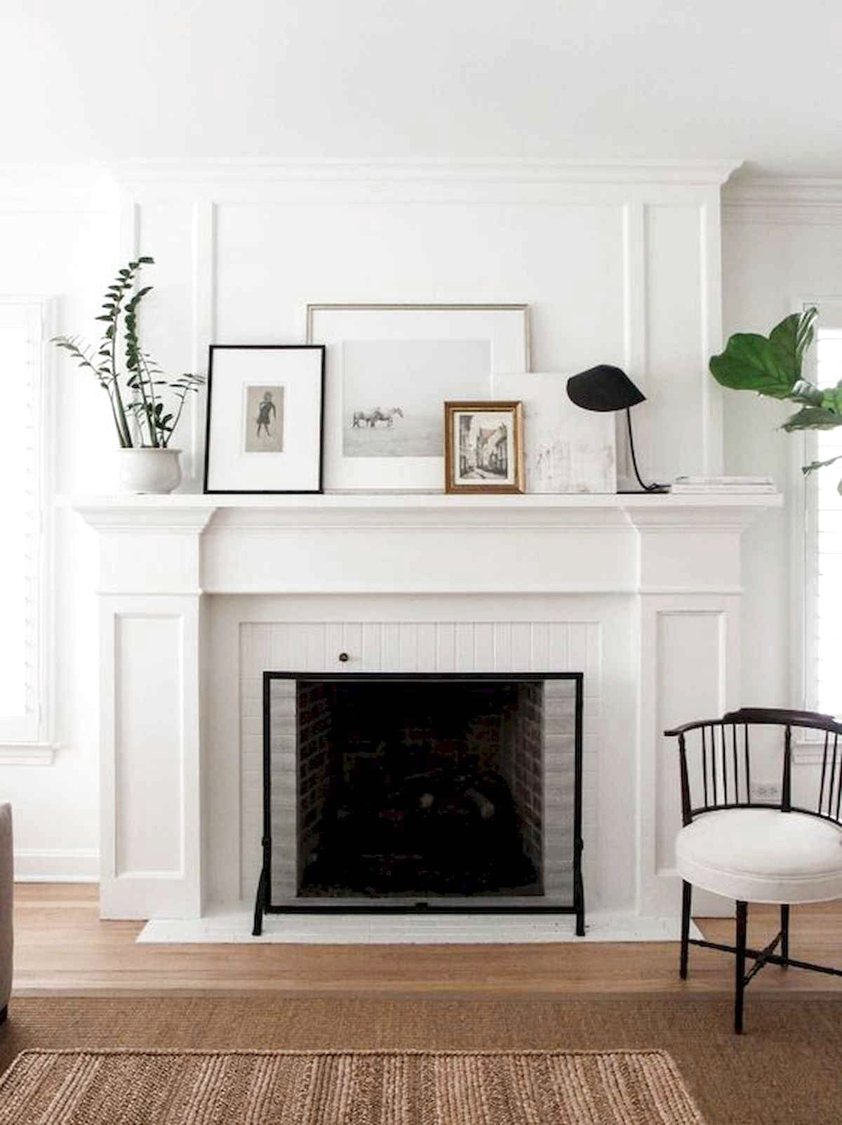 41 Awesome Farmhouse Fireplace Decor Ideas And Remodel Fireplace Mantel Designs Contemporary Fireplace Farmhouse Fireplace Mantels