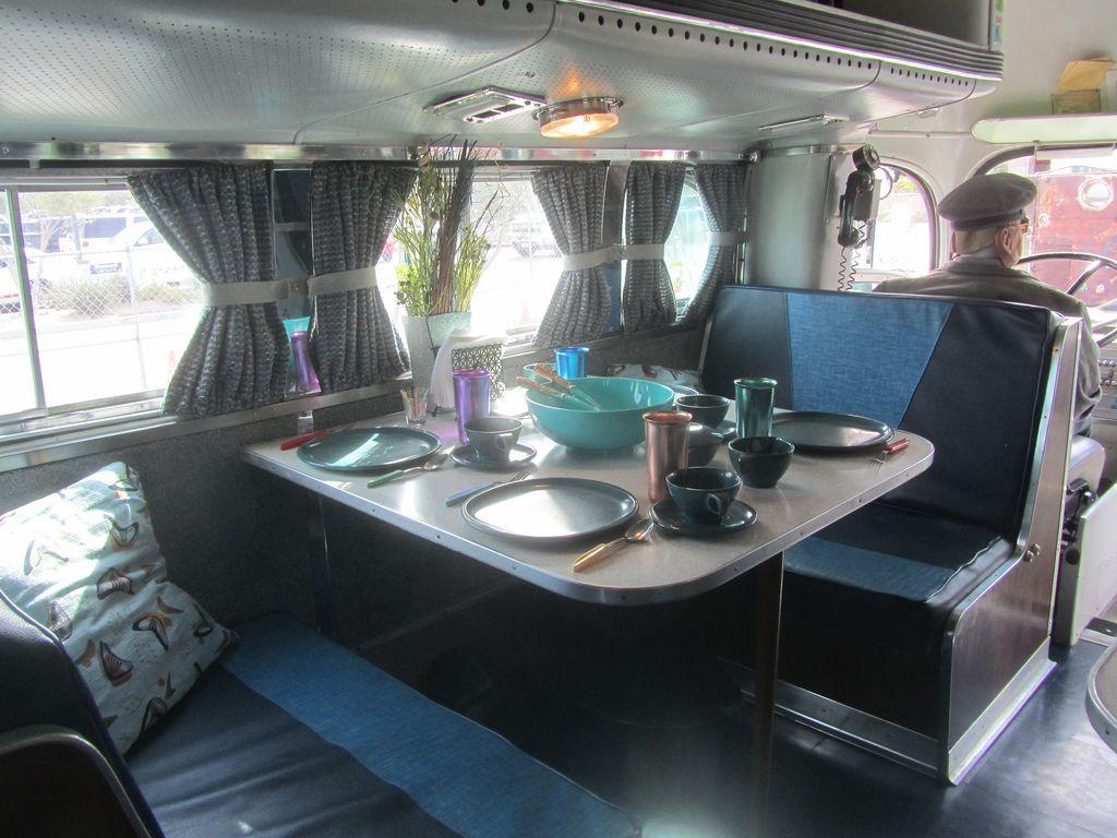 Gmc Motorhome Interior Former Greyhound Bus 1948 Mr38 Tags