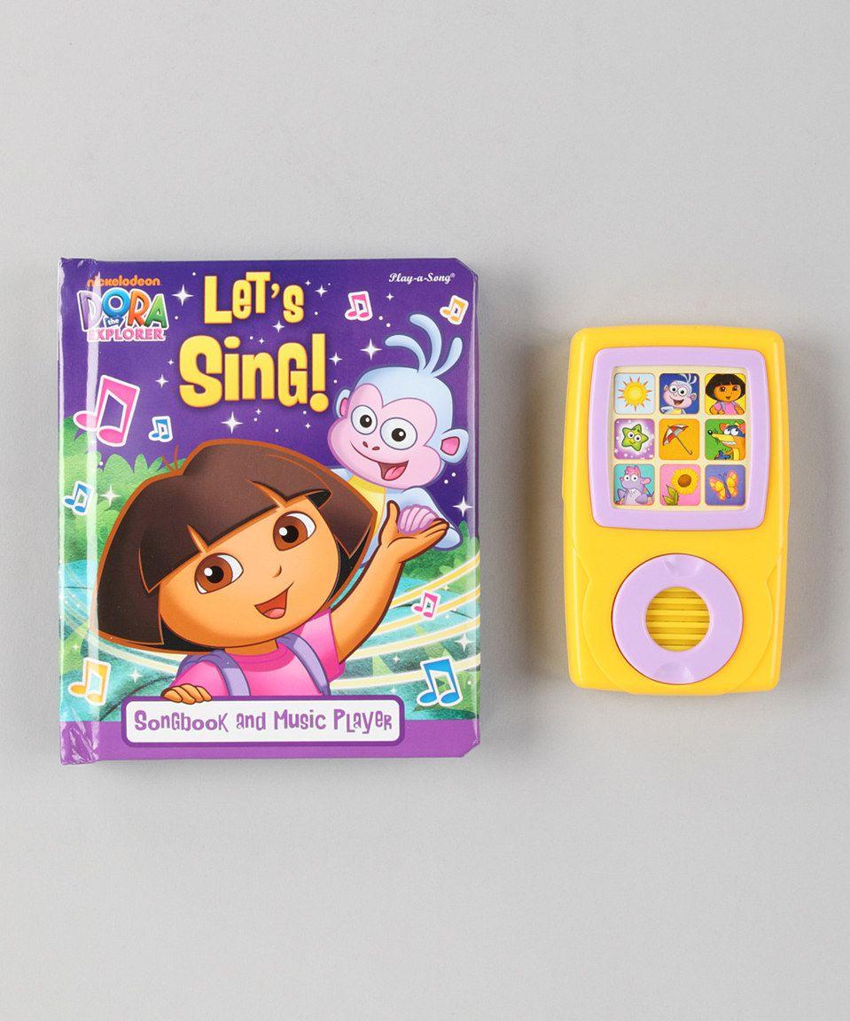This Dora Let S Sing Book Set By Dora The Explorer Is Perfect Zulilyfinds Book Set Dora The Explorer Singing