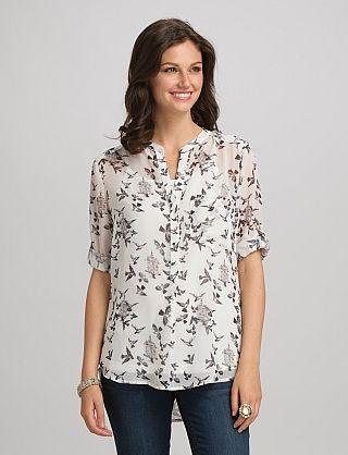 Misses Tops Shirts Blouses Roz Ali Birdcage Blouse