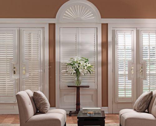 Lowes Graber - custom blinds | Interior sliding french ...