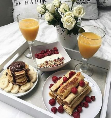 breakfast in bed #breakfast Breakfast In Bed For Him Healthy Recipes 33 Ideas #recipes #breakfast