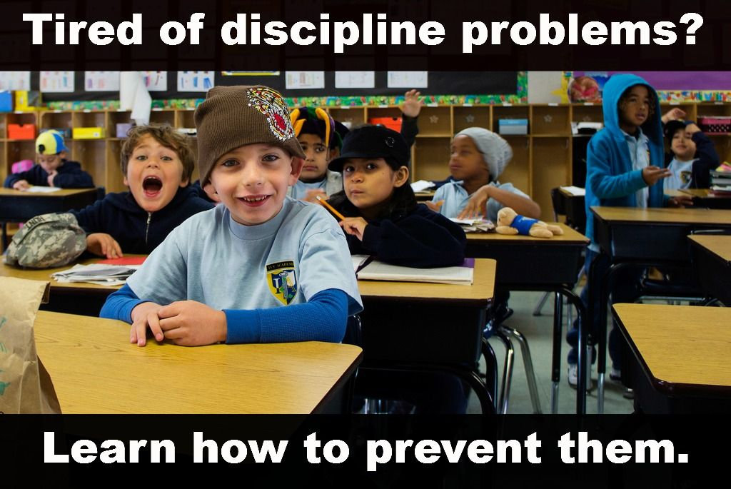 How to Prevent Discipline Problems #teaching #classroom #education
