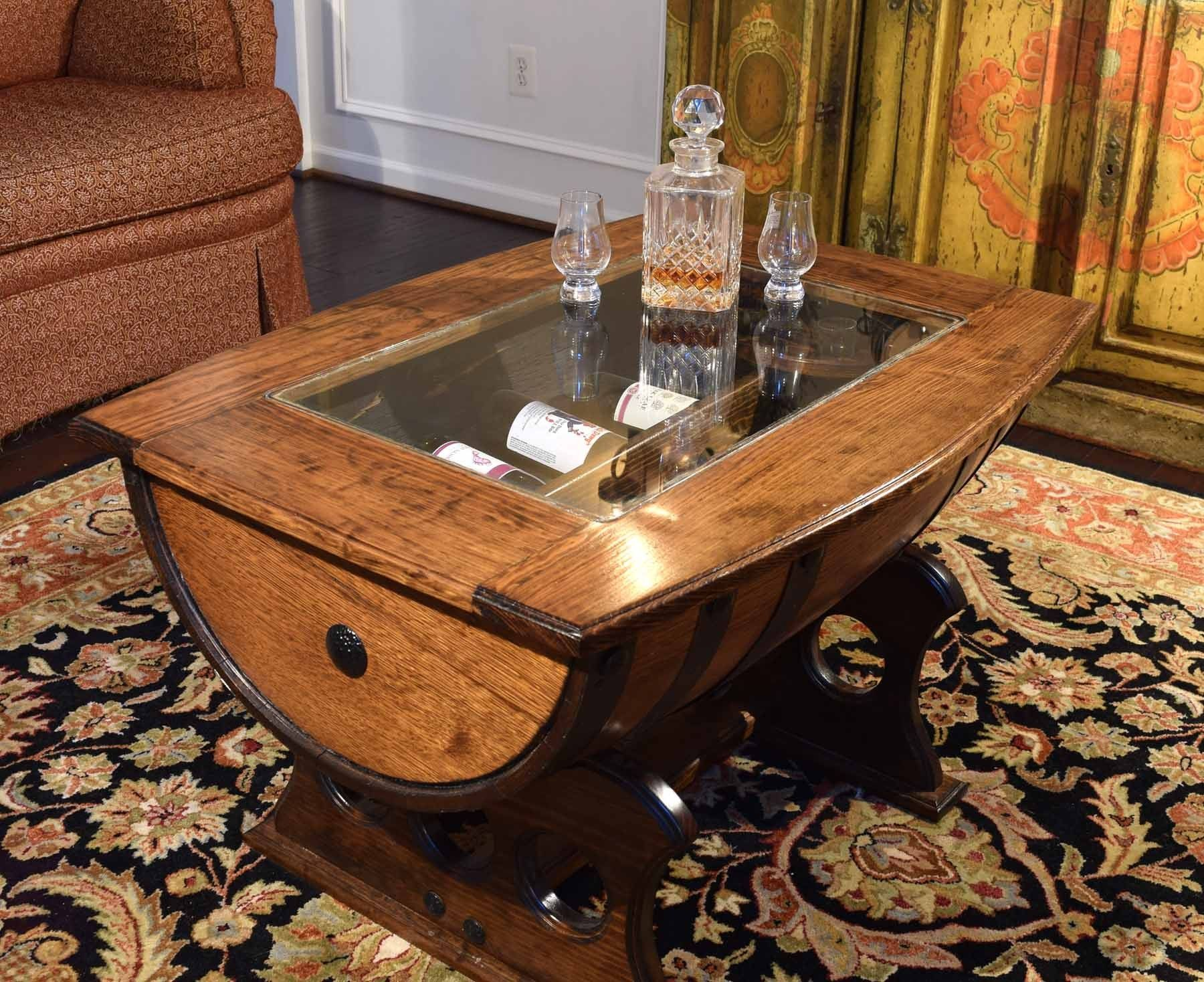 Wine Barrel Coffee Table Glass Top Download Whiskey Barrel Coffee Table With Glass Top Bottle Wine Barrel Coffee Table Reclaimed Coffee Table Coffee Table [ 1468 x 1800 Pixel ]