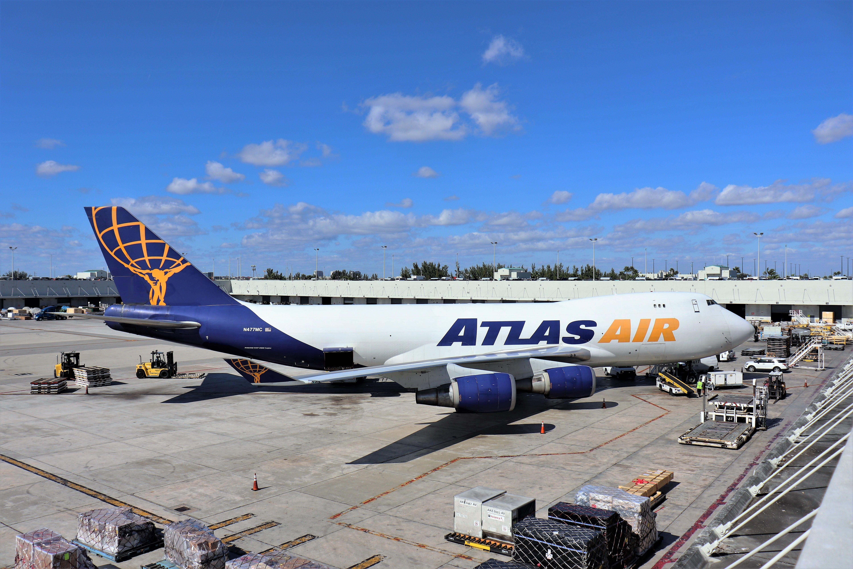Atlas Air 747 Atlas air, Air, Atlas