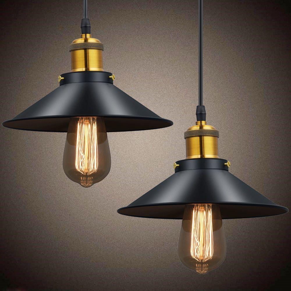 Vintage Pendant Lights Retro Pendant Lamp Metal Lustres Loft