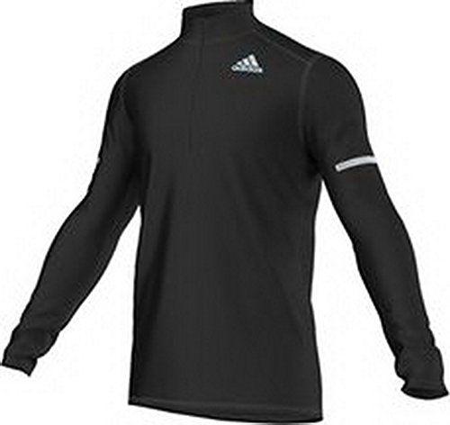 adidas SQ CC HZ L S M - Camiseta térmica para hombre 21a6ed46e780b