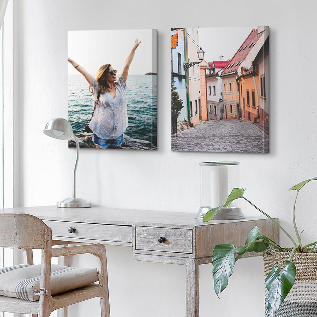 Personnalisees photos on canvas-canvas printed canvas vacation