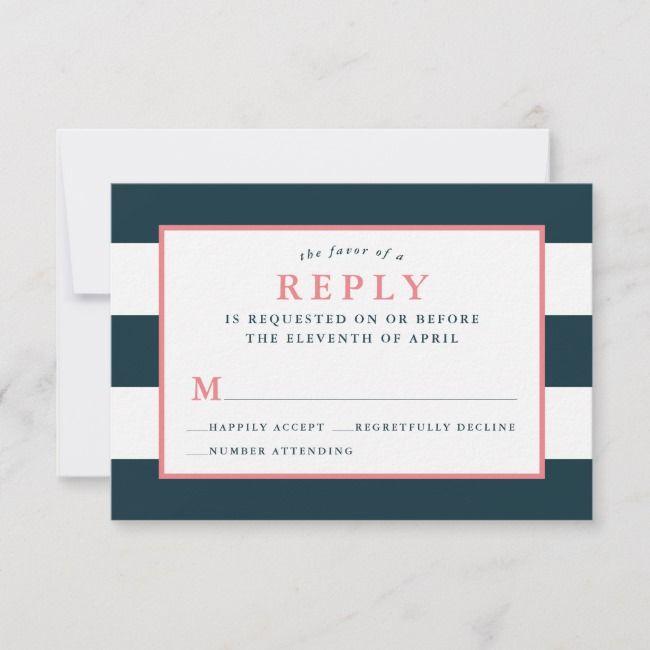 Create your own Response Card | Zazzle.com | Rsvp wedding ...