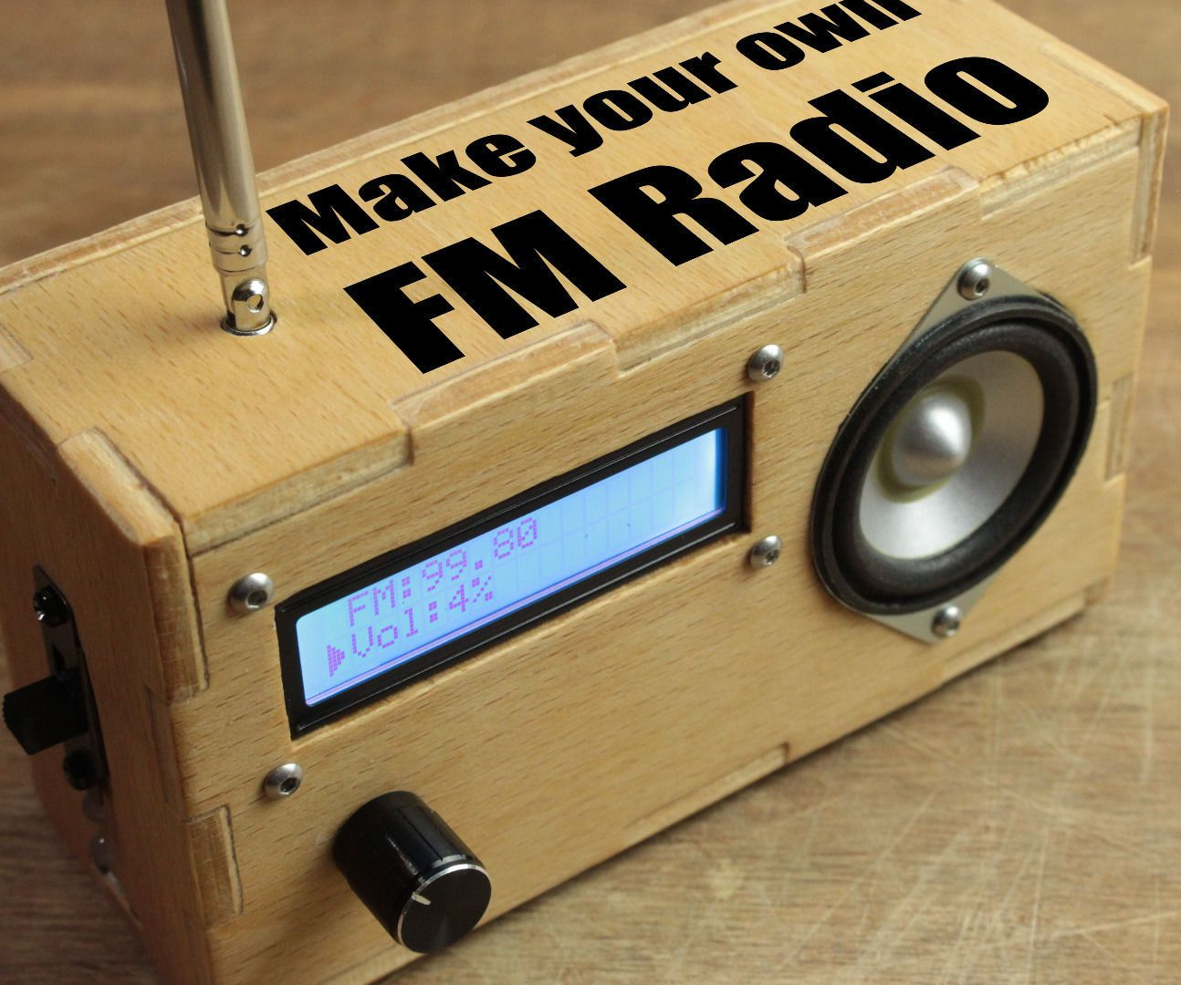 Make your own fm radio arduino radios and couples
