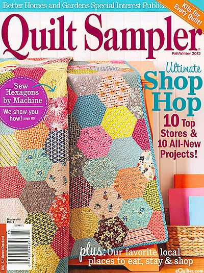 The NEW Better Homes & Gardens Quilt Sampler Magazine arrived at ... : quilting today magazine - Adamdwight.com