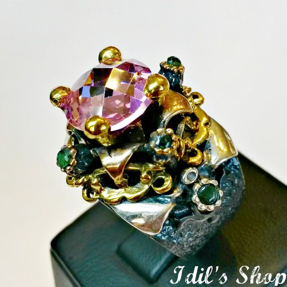 Authentic Turkish Ottoman Style Handmade 925 Sterling by IdilsShop, $130.00