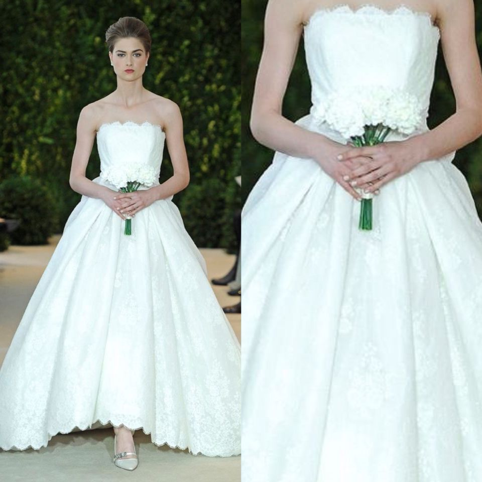 Audrina\' bridal gown by Carolina Herrera. Original price 260,000 ...
