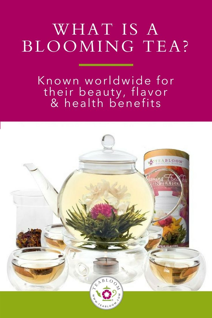 Another Name For Blooming Teas Are Flowering Teas This Is Because